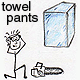 towel pants