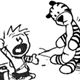 Calvin and Tiger