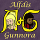 Alfdis and Gunnora